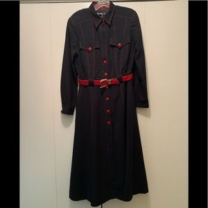 Escada shirt dress-vintage